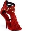 Giuseppe Zanotti Червени обувки на ток