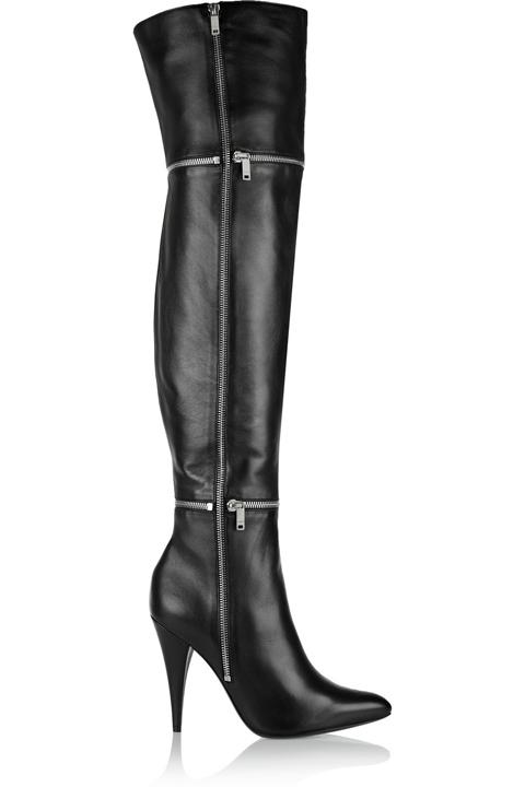Секси чизми с висок ток и ципове есен 2015
