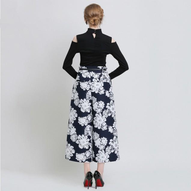 Модерен широк панталон есен 2015
