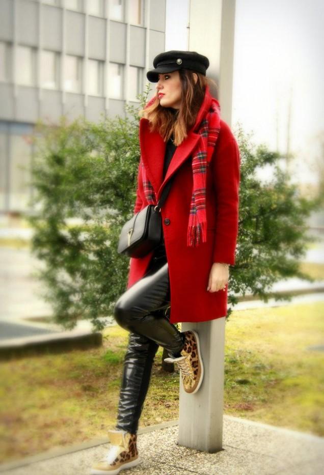 Червено палто зима 2016