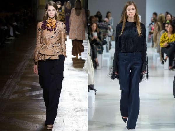 Модерни широки панталони 2015