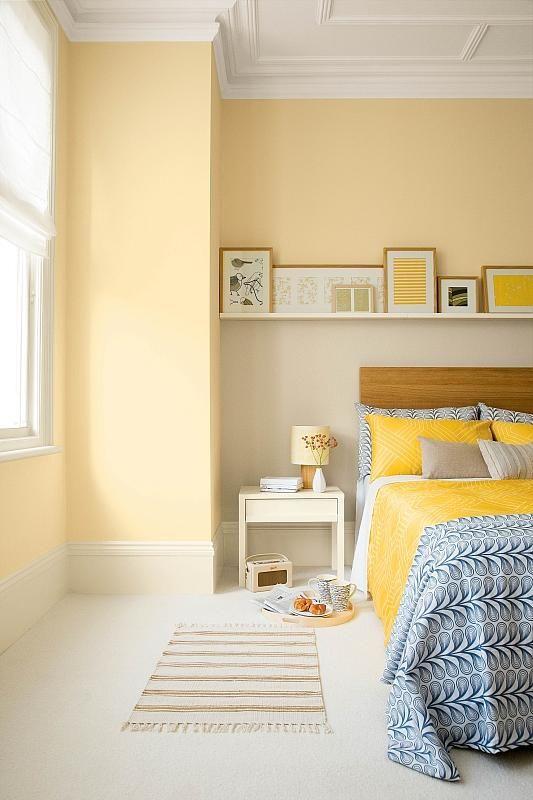 Спалня пастелни цветове 2016