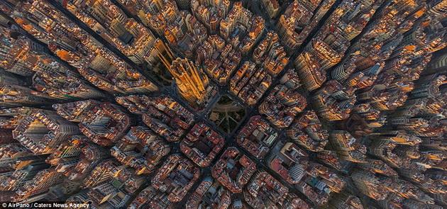 поглед от Барселона