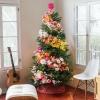 украса за елха с цветя