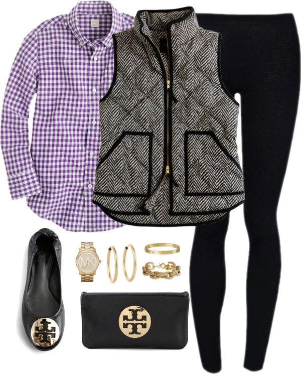 Комбинация на елек риза и пантофки зима 2015