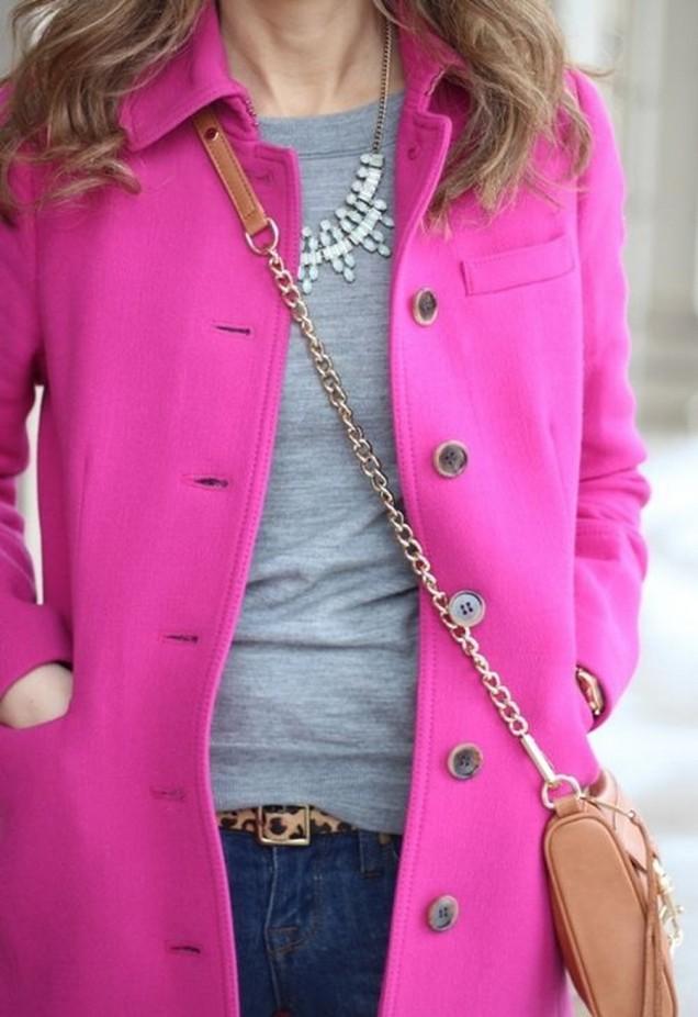 Готино розово палто
