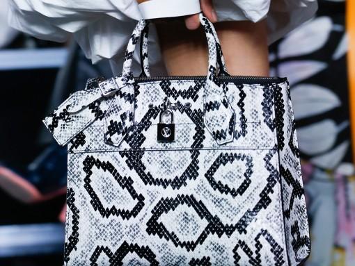 Чанта с принт за пролет 2016