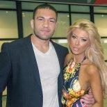 Кубрат Пулев и Андреа на летището