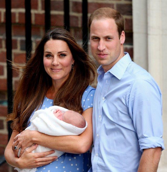 Снимки на бебето на Кейт и принц Уилям