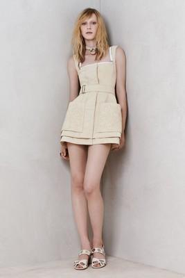 Стилна рокля от Alexander McQueen колекция Resort 2014