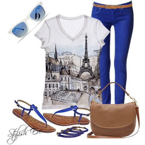 Малко синьо и Париж за лято 2013