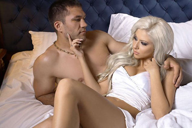 Кубрат Пулев и Андреа в леглото