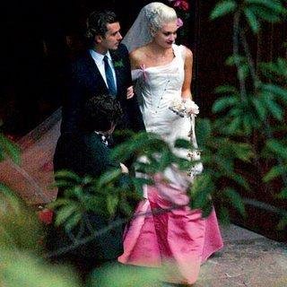 Гуен Стефани с Омбре рокля от Christian Dior