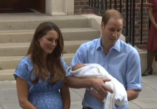 бебето на Кейт и принц Уилям