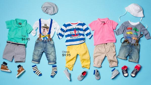 Колекция HM за бебета и малки дечица за 2013 година
