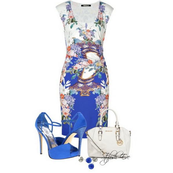 Стилна рокля за лято 2013