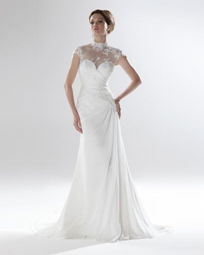 Нежна сватбена рокля 2016