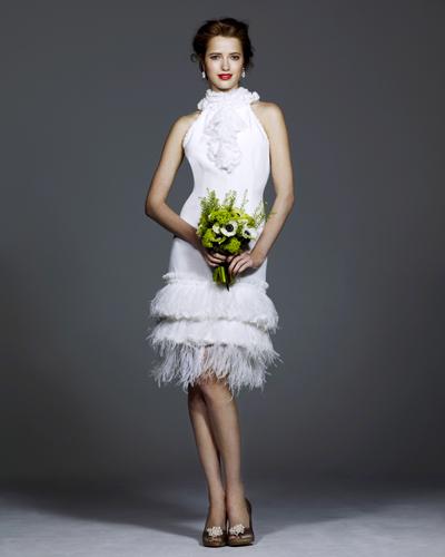 Готина къса сватбена рокля 2016