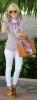 Цветен шал, който освежава комбинацията за пролет 2016