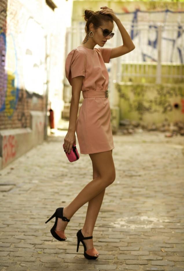 Готина рокля в розово за пролет 2016