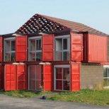 къща от метални контейнери