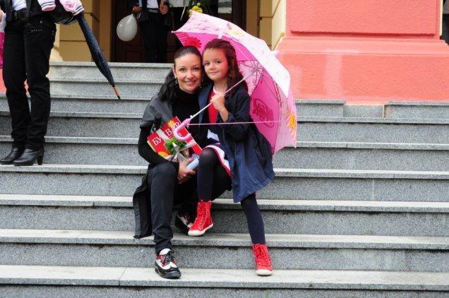 Вихра и Ава първи учебен ден