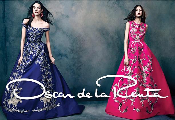 Приказни рокли от Oscar de la Renta Колекция есен 2013