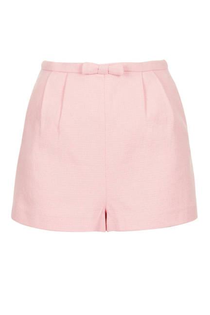 Къси панталонки в розово