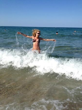 Малина в морето