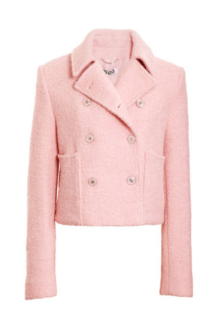 Вълнено розово яке