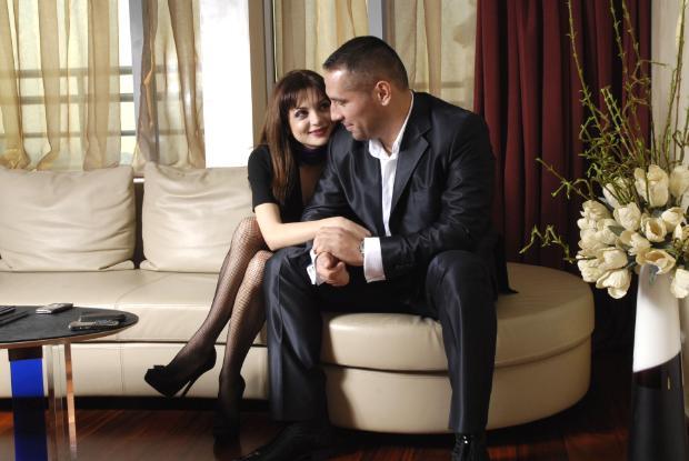Петко Димитров с красива жена