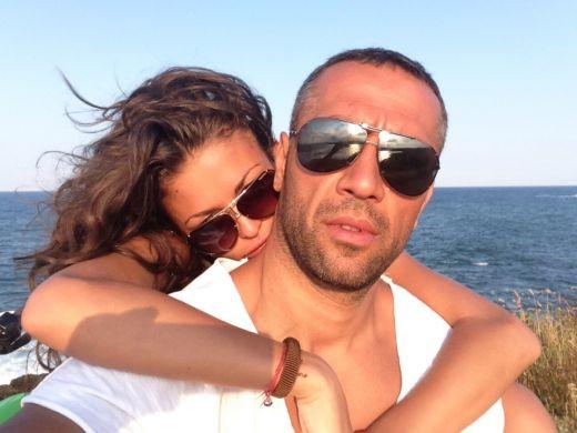 Яна и Петко на морето