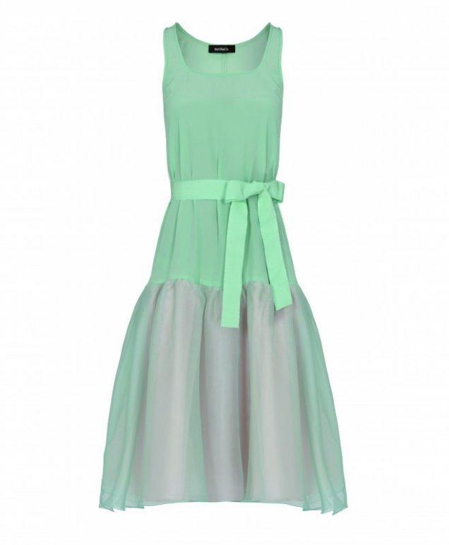 Страхотна рокля ментов цвят