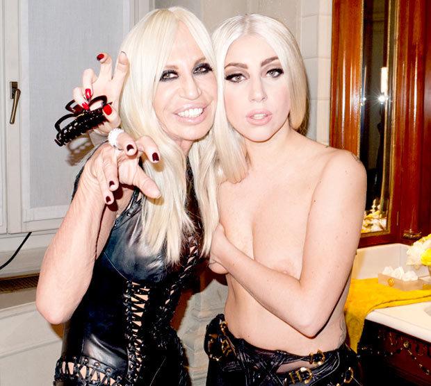 Лейди Гага и Дона