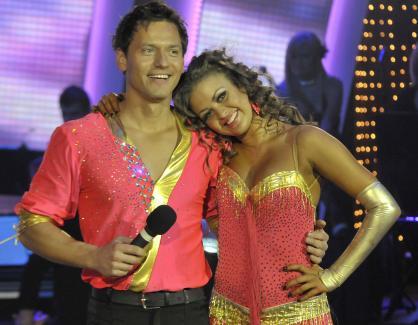 Орлин Павлов и Яна танцуват