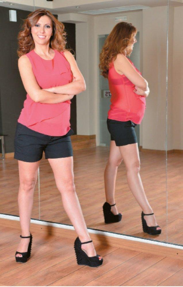 Галена Великова бременна в залата