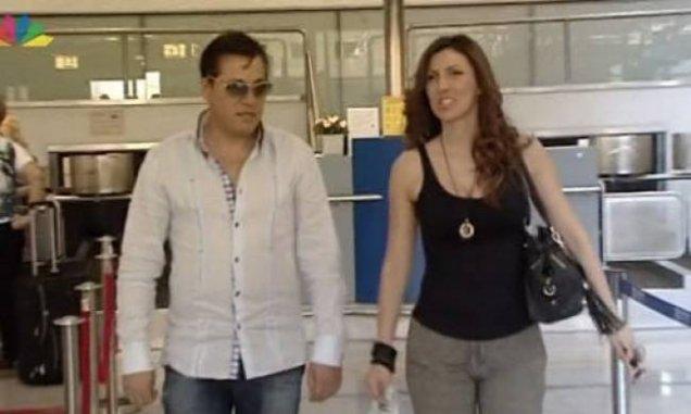 Галена Великова бременна на летището
