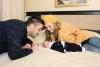 Константин и Надя с бебето