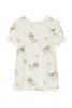 Флорална копринена блуза