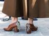 Обувки с квадратен ток есен 2016