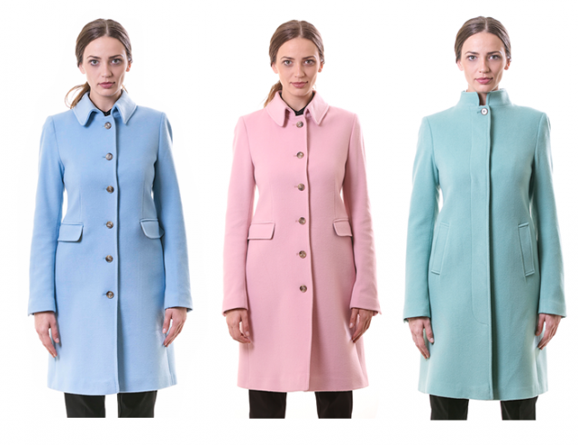 Цветни палта зима 2016