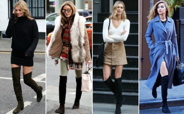 Модерни чизми за зима 2016