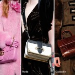 Чанти за рамо с дълги дръжки зима 2017