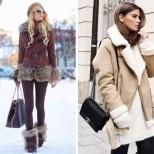 Палто от овча кожа зима 2016