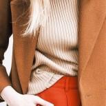 Дрехи в цвят карамел за зима 2016