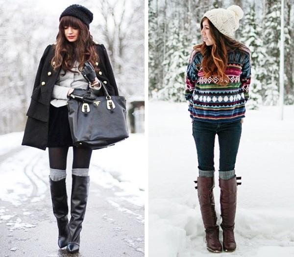 Чорапи до коляното зима 2016