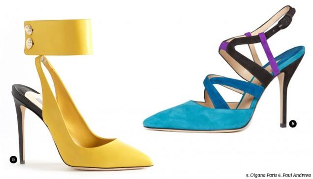Секси велурени цветни обувки на висок ток пролет 2017