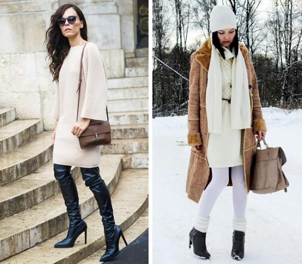 Плетени рокли зима 2016