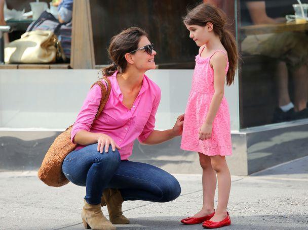 Кейти Холмс с дъщеря си