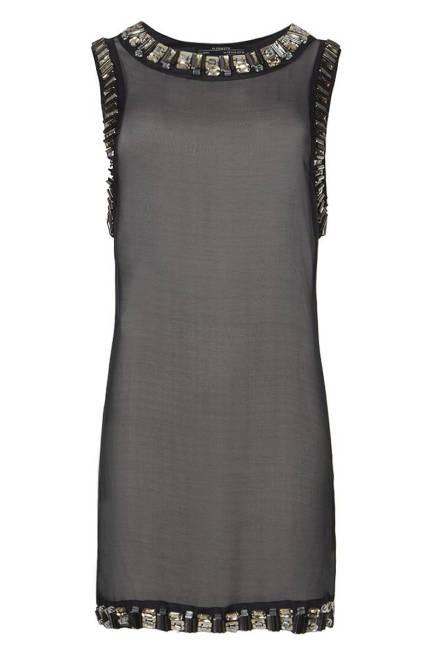 Стилна рокля в сиво